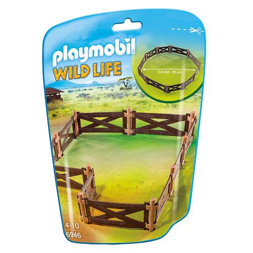 Ohrada Playmobil Safari, 20 dílků