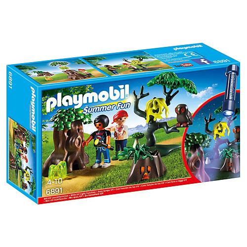 Noční stezka odvahy Playmobil Prázdniny, 16 dílků