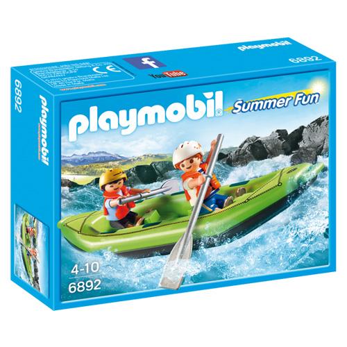 Raft na divokou vodu Playmobil Prázdniny, 9 dílků