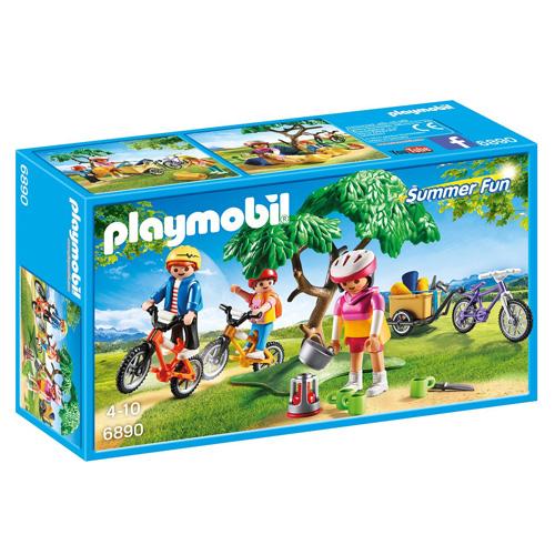 Výlet na horských kolech Playmobil Prázdniny, 29 dílků