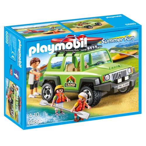 Auto správce kempu Playmobil Prázdniny, 15 dílků