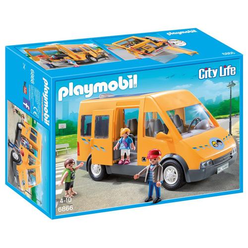 Školní dodávka Playmobil Život ve městě, 26 dílků