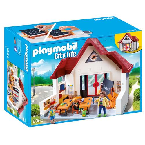První třída ve škole Playmobil Život ve městě, 128 dílků