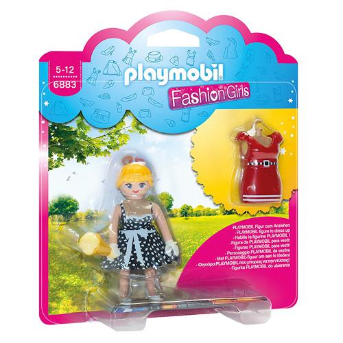 Dívka v šatech z padesátých let Playmobil Módní přehlídka, 8 dílků
