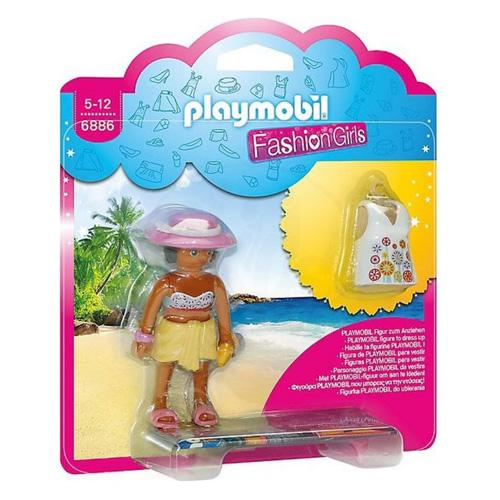 Dívka v plážových šatech Playmobil Módní přehlídka, 8 dílků