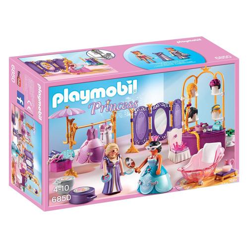 Královská převlékárna Playmobil Zámek, 111 dílků