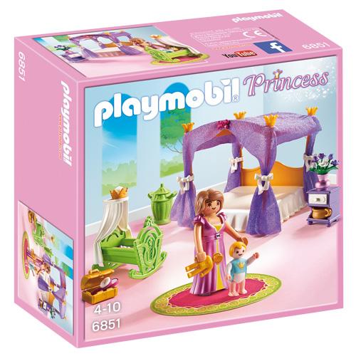 Královská ložnice s nebesy Playmobil Zámek, 15 dílků