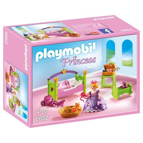 Princeznin dětský pokoj Playmobil Zámek, 25 dílků