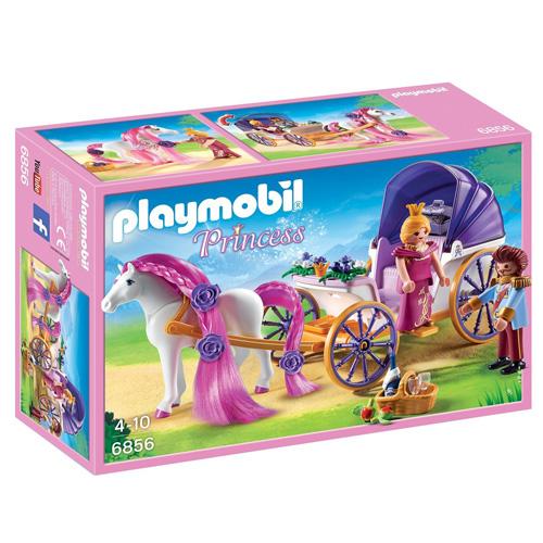 Královský pár s kočárem Playmobil Zámek, 23 dílků