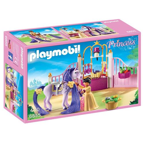 Královské stáje Playmobil Zámek, 74 dílků