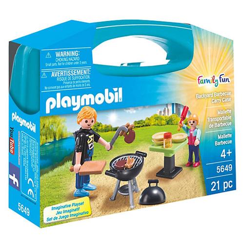 Zahradní grilování Playmobil Život ve městě, 21 dílků