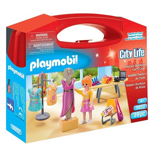 Prodavačka v butiku Playmobil Život ve městě, 39 dílků