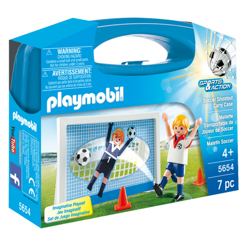 Penalty Playmobil Sport a akce, 7 dílků