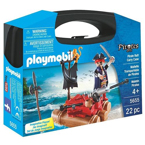 Pirát na voru Playmobil Piráti, 22 dílků