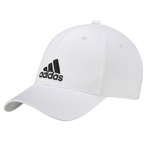 6P CAP COTTON WHITE/WHITE/BLACK OSFW FW17_adidas