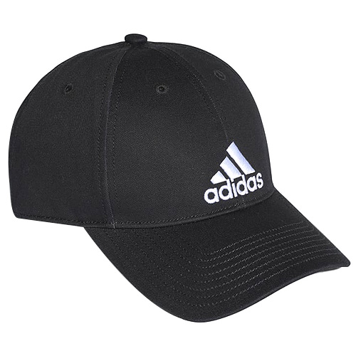6P CAP COTTON BLACK/BLACK/WHITE OSFL FW17_adidas