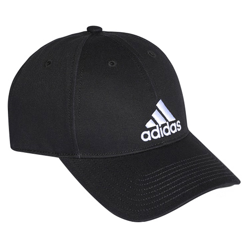 6P CAP COTTON BLACK/BLACK/WHITE OSFW FW17_adidas