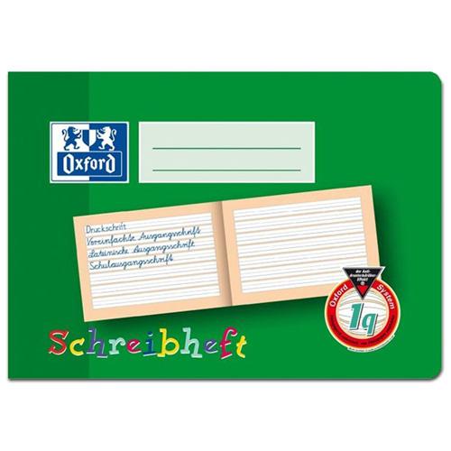Sešit na psaní Oxford A5, linkovaný, 16 listů
