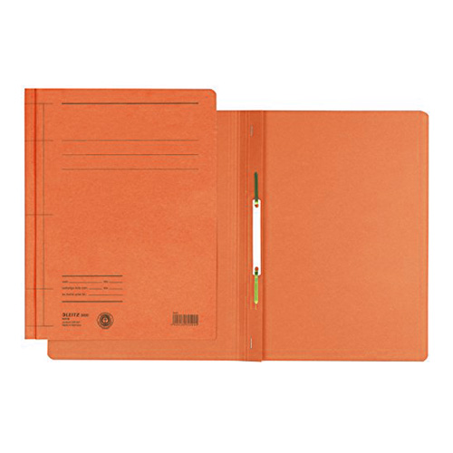 Desky s rychlovazačem Leitz A4, oranžové