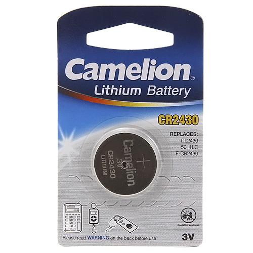 Fotografie Knoflíková baterie Camelion CR2430, 3V