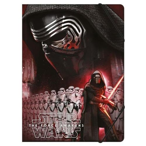 Desky s gumičkou Undercover Star Wars Epizoda VII, formát A4