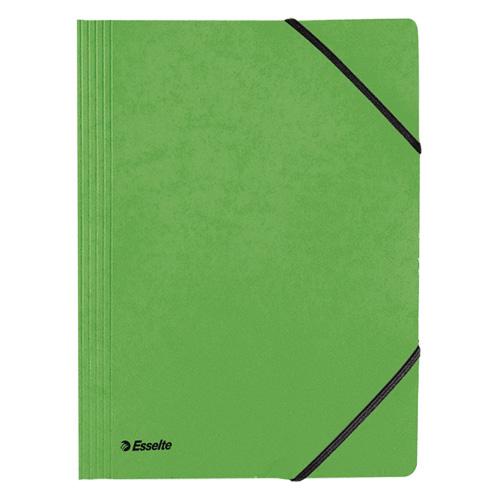 Prešpánové desky Esselte A4, Rainbow, zelené