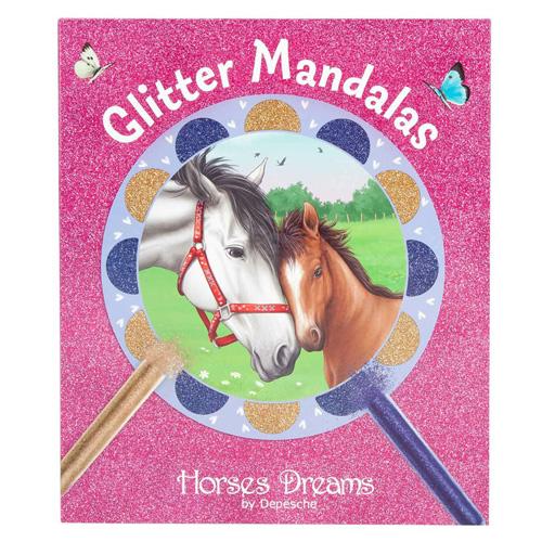 Pískovací obrázky Horses Dreams Třpytivé mandaly s motivy koní