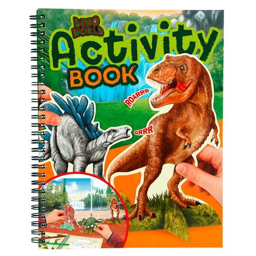 Omalovánky, kreativní sada Dino World Dinosauři