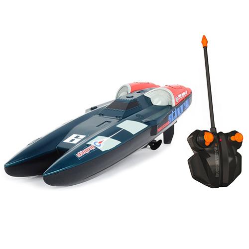 Závodní člun na dálkové ovládaní Dickie Stingray, 1:28, 31cm, 2kan