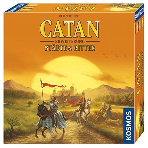 Stolní hra Kosmos Osadníci z Katanu - Města a rytíři, DE