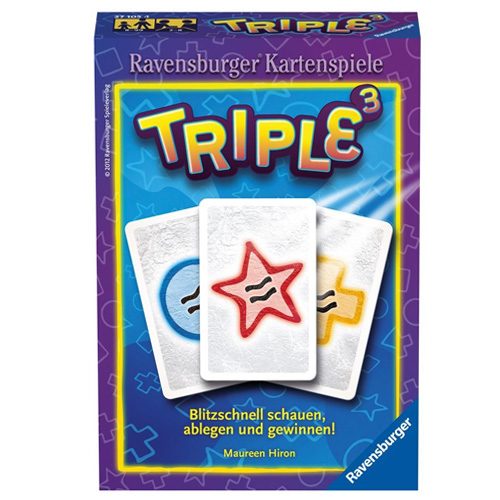 Karetní hra Ravensburger Triple 3, pro 2-4 hráče