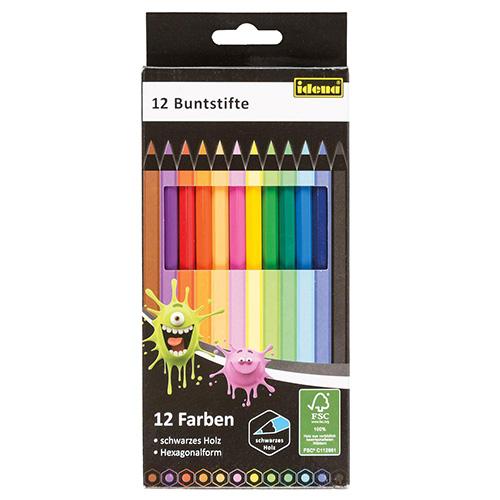 Pastelky Idena 12 barev