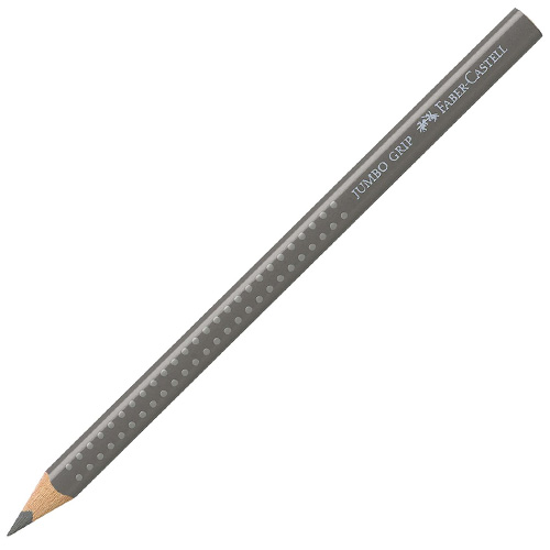 Pastelka Faber-Castell JUMBO GRIP, šedá