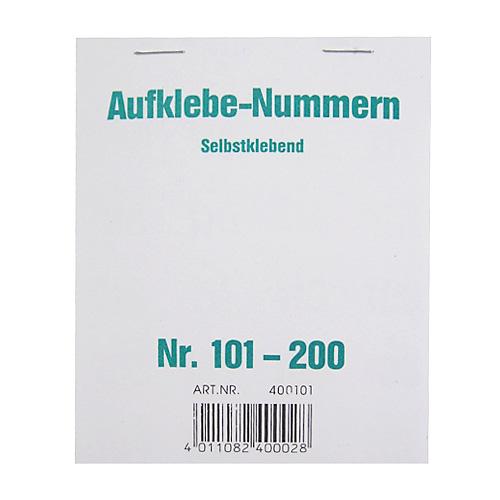 Čísla samolepící Wolf & Appenzeller Čísla 101-200