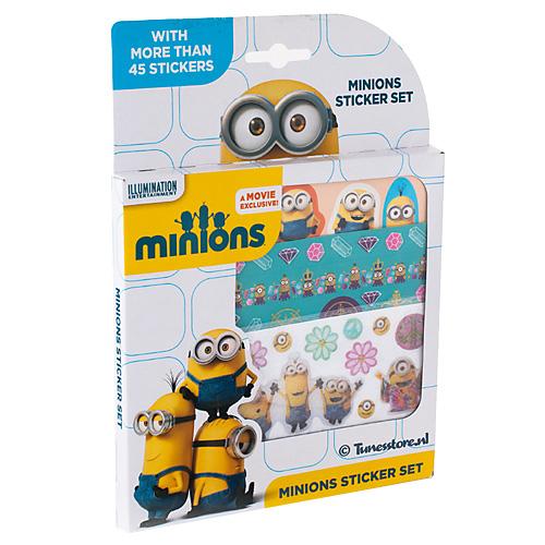 Totum Minions Stickerbox