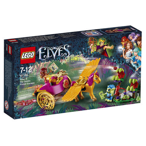 Stavebnice LEGO Elves Azari a útěk ze Skřetího lesa, 145 dílků