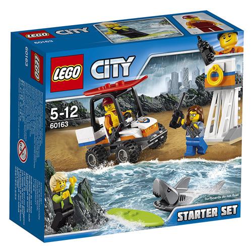 Stavebnice LEGO City Pobřežní hlídka - začátečnická sada, 76 dílků