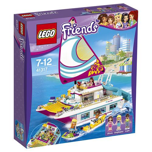 Stavebnice LEGO Friends Katamarán Sunshine, 603 dílků