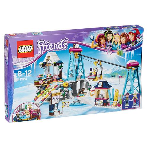 Stavebnice LEGO Friends Lyžařský vlek v zimním středisku, 585 dílků