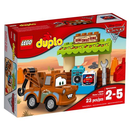 Stavebnice LEGO Duplo Cars Burákova garáž, 23 dílků