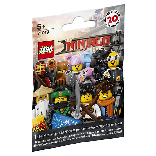 Minifigurka LEGO Ninjago Movie 20 druhů