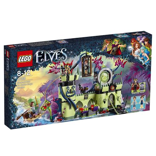 Stavebnice LEGO Elves Útěk z pevnosti Skřetího krále, 695 dílků