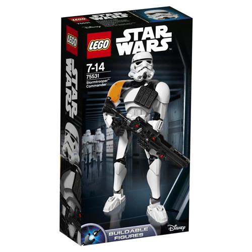 Stavebnice LEGO Star Wars Velitel Stormtrooperů, 100 dílků