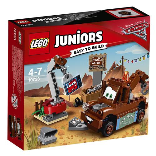 Stavebnice LEGO Juniors Cars Burákovo smetiště, 62 dílků