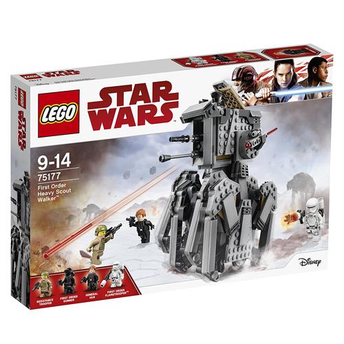Stavebnice LEGO Star Wars Těžký průzkumný chodec Prvního řádu, 544 dílků