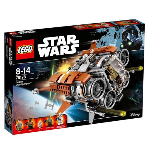 Stavebnice LEGO Star Wars Loď Quadjumper™ z Jakku, 457 dílků