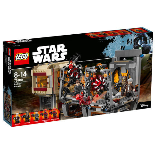 Stavebnice LEGO Star Wars Rathtarův útěk, 836 dílků