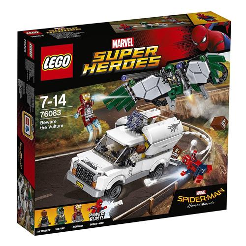 Stavebnice LEGO Marvel Super Heroes Pozor na Vultura, 375 dílků