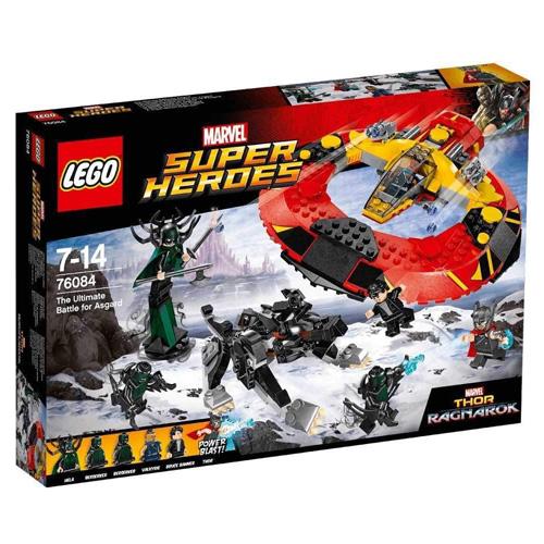 Stavebnice LEGO Marvel Super Heroes Závěrečná bitva o Asgard, 400 dílků