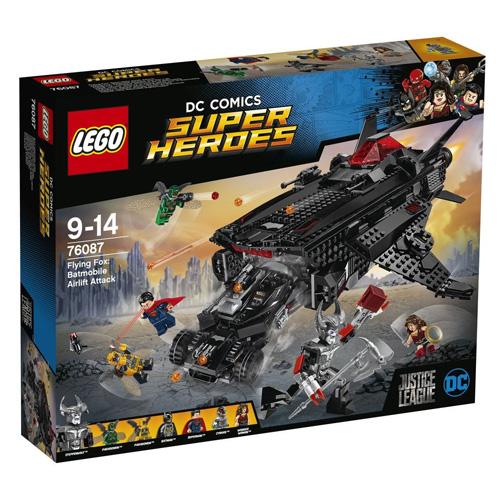 Stavebnice LEGO Super Heroes Obří netopýr: Vzdušný útok Batmobilu, 955 dílků
